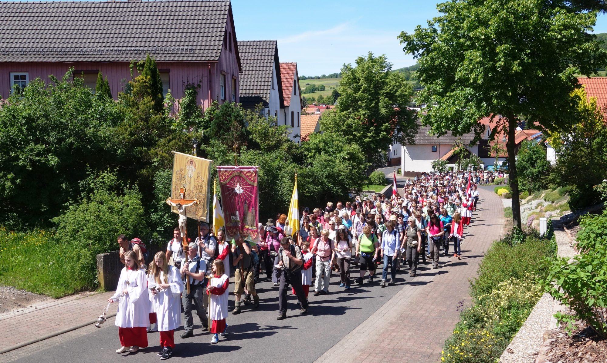 Vierzehnheiligenwallfahrt Simmershausen